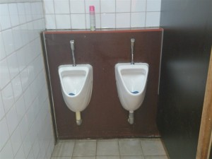 2 urinoirs