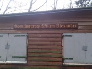 Scouting Willem Alexander