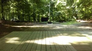 Het terras